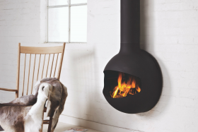 Focus EmiFocus Wood Burning Hanging Fireplace