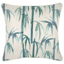 Bamboo Cushion with piping -45 x 45