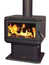 Coonara Compact Freestanding Wood Burning Fireplace