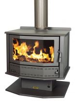 Coonara Firelite Freestanding Wood Burning Fireplace