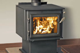 Jetmaster Quadra Fire 3100 Millenium Freestanding Wood Burning Fireplace