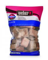 Weber Firespice Hickory Flavoured Smoking Chunks 1.8kgs