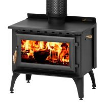 Kent Classic 1000 Freestanding Wood Burning Fireplace