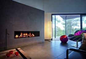 Focus Neofocus Wood Burning Fireplace