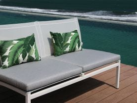 Pacific Armless 3pc Outdoor Lounge Setting