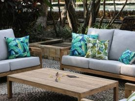 Venlo 3pc Teak Outdoor Lounge Setting