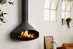Focus PaxFocus Wood Burning Hanging Fireplace