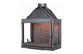 Seguin Multivision 8000 3V Cast Iron Cheminee Fireplace
