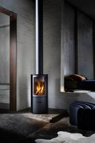 Stuv 30 Compact Slow Combustion Wood Burning Fireplace