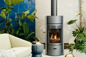 Stuv 30 Rotating Wood Burning Fireplace