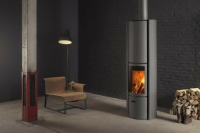 Stuv 30 Hi Rotating Wood Burning Fireplace
