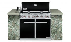 Weber Summit E-660 Built In Barbecue