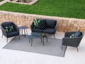 Palm 4pc Outdoor Sofa Setting