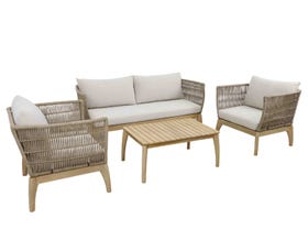 Danube 4pc Outdoor Lounge Setting