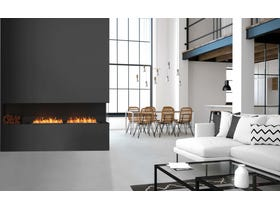 Ecosmart Ethanol Right Corner Flex Insert Fireplace- Multiple Sizes Available