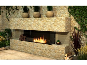 Ecosmart Ethanol Bay Flex Insert Fireplace- Multiple Sizes Available