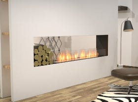 Ecosmart Ethanol Double Sided Flex Insert Fireplace Series- Multiple Sizes Available