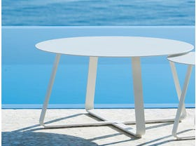 Elko 90cm Round Side Table