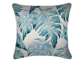 Waimea Cushion Cover With Piping in white - 45 x 45