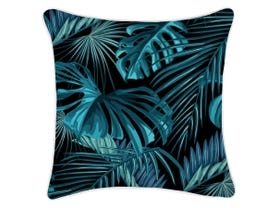Cushion Cover With Piping Cabana Black - 45 x 45