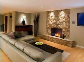 Ecosmart Ethanol Single Sided Flex Insert Fireplace Series- Multiple Sizes Available