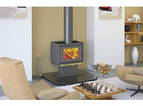 Kemlan Tempo Freestanding Wood Burning Fireplace