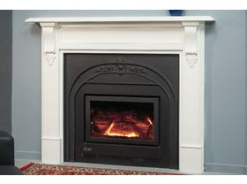 Coonara Grange Victorian Inbuilt Gas Burning Fireplace