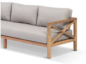 Hampton 4pc Teak Outdoor Lounge Setting