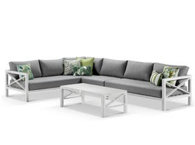 Hampton 4pc Sofa Setting