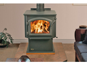Jetmaster Quadra Fire 4300 Millenium Freestanding Wood Burning Fireplace