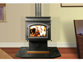 Jetmaster Quadra Fire 3100 Step-Top Freestanding Wood Burning Fireplace