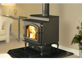 Jetmaster Quadra Fire 5700 Step-Top Freestanding Wood Burning Fireplace