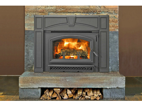 Jetmaster Quadra-Fire Voyageur Grand Inbuilt Wood Burning Fireplace