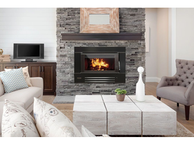 Heatcharm I600 Series 8 Inbuilt Wood Burning Fireplace
