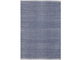 Dash & Albert Herringbone Outdoor/ Indoor Rug in Indigo
