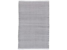 Dash & Albert Herringbone Indoor/ Outdoor Rug in Shale