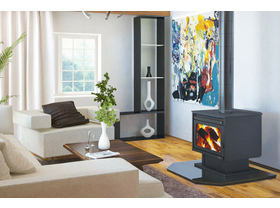 Jetmaster Kemlan XL Freestanding Wood Burning Fireplace