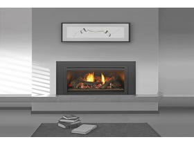 Jetmaster Heat & Glo 130-X Insert Gas Log Fireplace