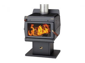 Kent Jindabyne Freestanding Wood Burning Fireplace