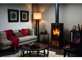 Kent Caliente Freestanding Wood Burning Fireplace