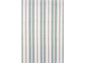 Dash & Albert Lighthouse indoor/ Outdoor Rugs in Light Blue/White