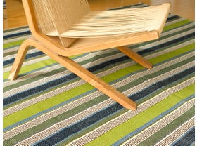 Dash & Albert Marina Stripe Indoor/ Outdoor Rug