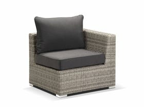 Maldives 3pc outdoor modular sofa setting