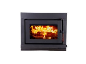 Maxiheat Nomad Insert Wood Burning Fireplace