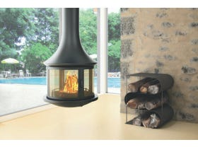 Bordelet Lea 998 Suspended Wood Burning Fireplace