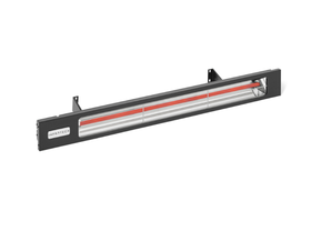 Infratech Black Slimline Electric Heater - 2400w