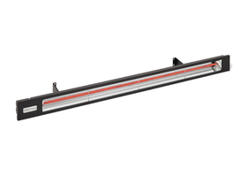 Infratech Black Slimline Electric Heater - 4000w