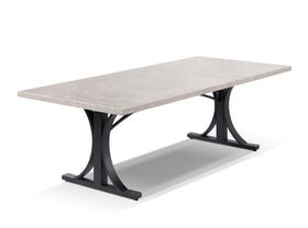 Luna Outdoor Stone dining table