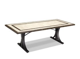 Milano 220 x 1 Natural Stone Dining Table