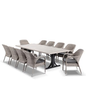 Luna with Essex 11pc Dining Setting